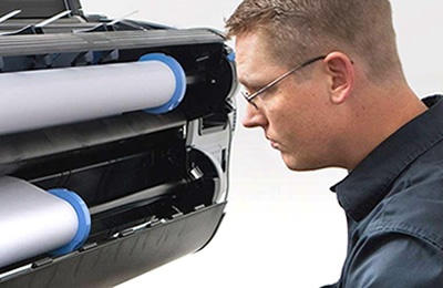 Printer repair with HP trained engineers